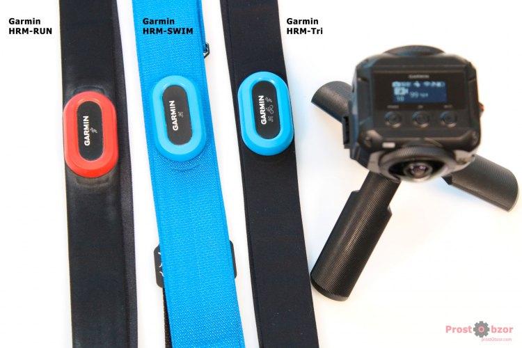 Нагрудные пульсометры Garmin HRM для Virb 360