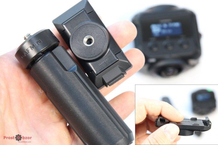 Винтовое крепление мини-трипода для установки экшн-камеры Garmin Virb 360