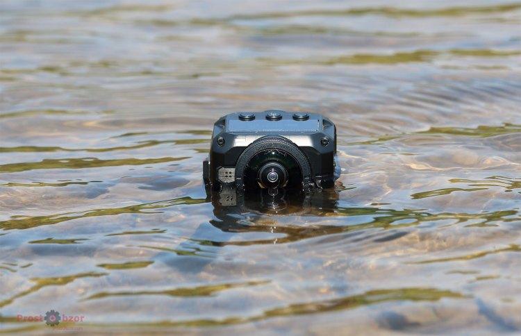 Водонепроницаемость экшн-камеры Garmin Virb 360