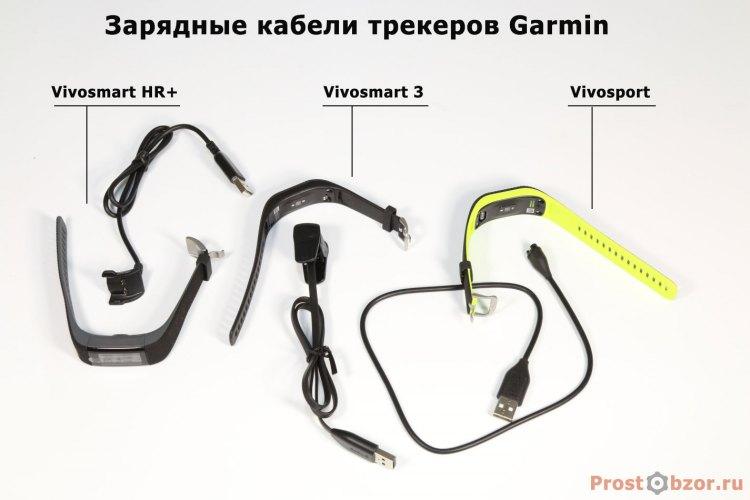 Рейтинг зарядных кабелей фитнес-трекеров Garmin серия Vivo
