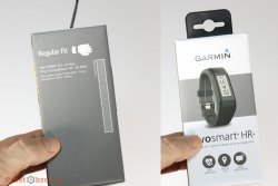 Коробка трекера Garmin Vivosmart HR+