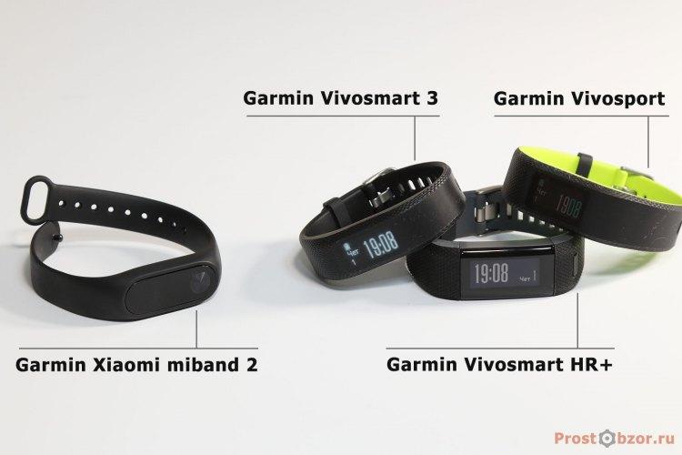 Фитнес-браслеты от Garmin vs Xiaomi miband