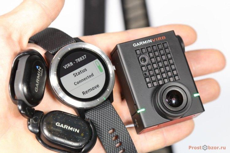 Поддержка внешних датчиков и устройств часами Garmin Vivoactive 3
