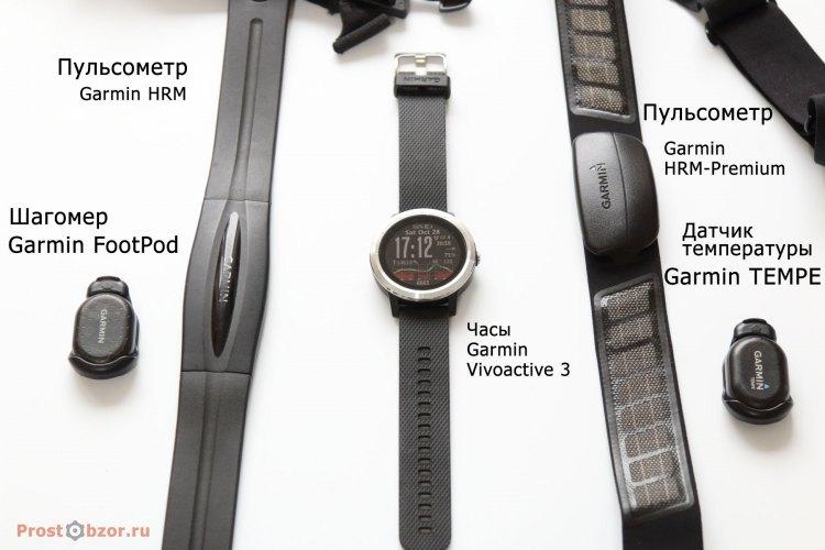 Датчики ANT для часов Garmin Vivoactive 3