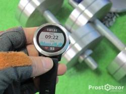 Тренировки в спортзале с Garmin Vivoactive 3