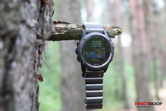 Fenix 3 - барометр