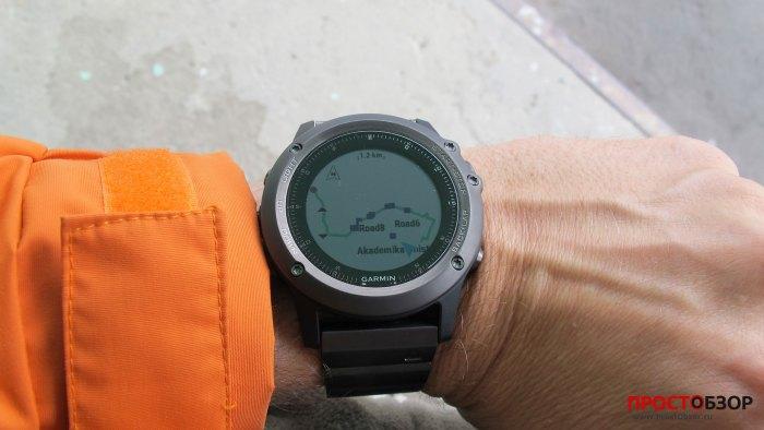 GPS-навигация Fenix 3 - полный маршрут