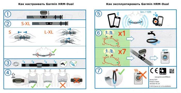 Как настроивать и эксплуатировать кардио-пульсометр Garmin HRM-Dual