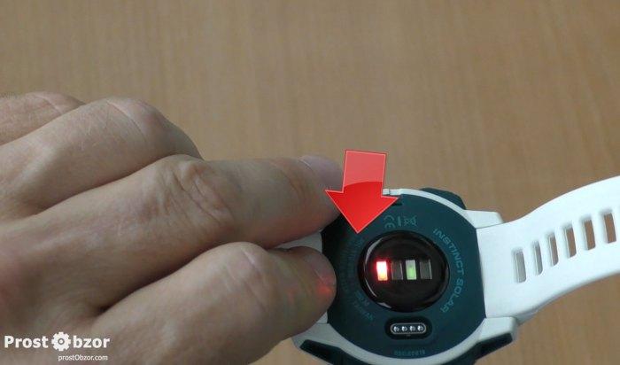 Как работает датчик Пульсоксиметр в часах Garmin Instinct Solar