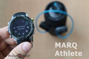 часы MARQ Athlete  - внешний вид и дизайн