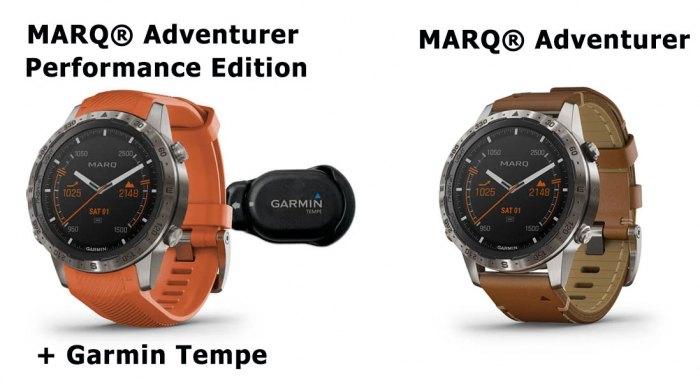 Часы MARQ Adventurer Performance Edition с внешним датчиком температуры Garmin Tempe