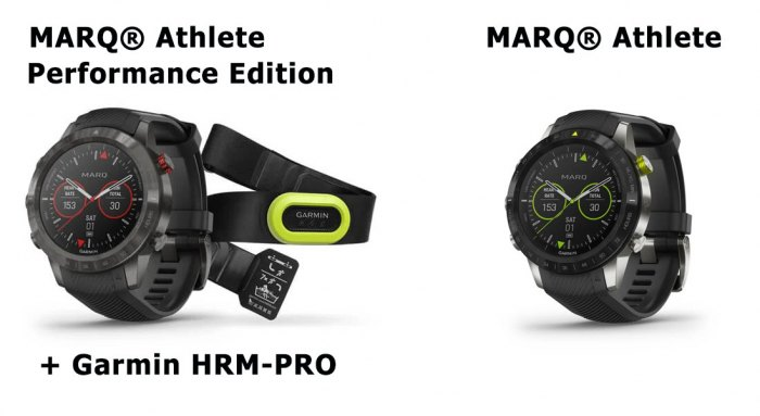 Час ы MARQ Athlete Performance Edition с кардио-датчиком Garmin HRM-Pro