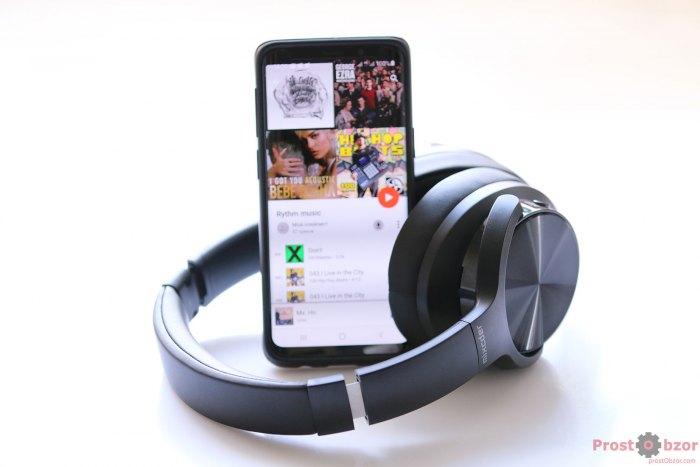 Наушники Mixcder E9 с телефоном