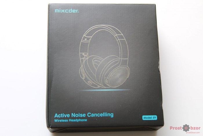 Коробка Mixcder E9