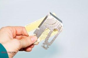 Мультитул RTF Universal 2.0 с размером кредитной карты