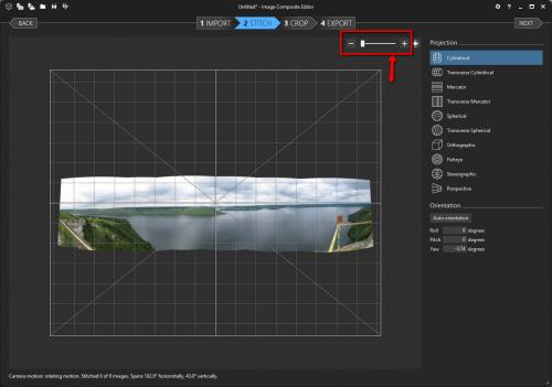 бесплатная программа для создания панорам - MS Image Composite Editor - объединение фото