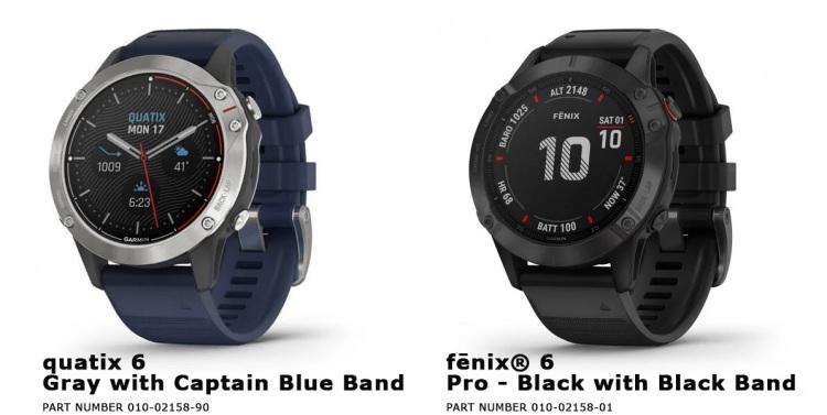 часы Quatix 6 в сравнении с Garmin Fenix 6 Pro