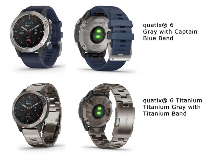 Новые модели Garmin Quatix 6