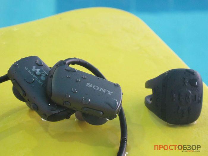 MP3 плеер Sony Walkman NWZ-WS613 для плавания