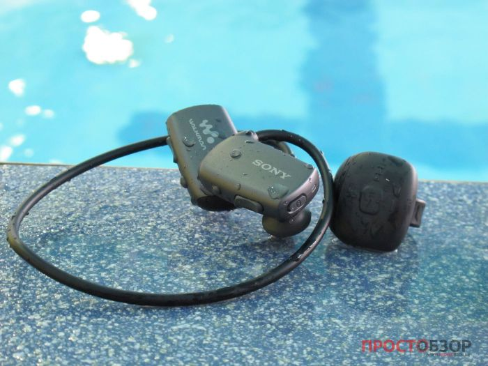 MP3 плеер Sony Walkman NWZ-WS613 для бассейна