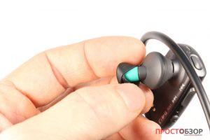 Как крепятся вкладыши на Sony Walkman NWZ-WS613