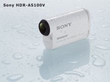 Новая камера Sony HDR-AS100V