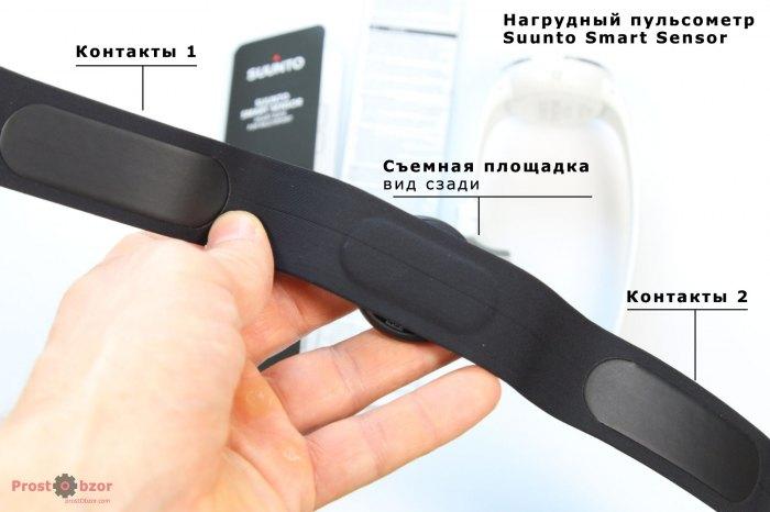 Контакты нагрудного ремня HRM Suunto Smart Sensor