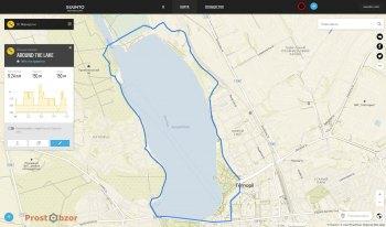 Примеры прокладки маршрутов в часах Suunto Spartan Ultra сервис Movescount