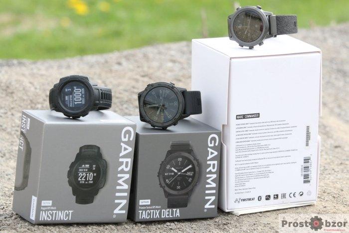 Коробки тактических часов Garmin