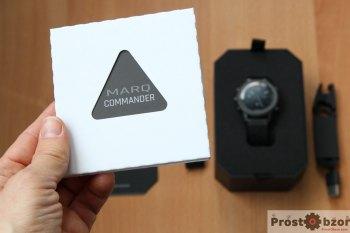 Распаковка тактических часов MARQ Commander - шаг 2