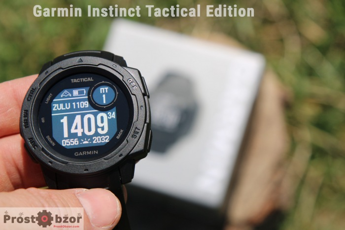 Дисплей часов GArmin Instinct Tactical Edition