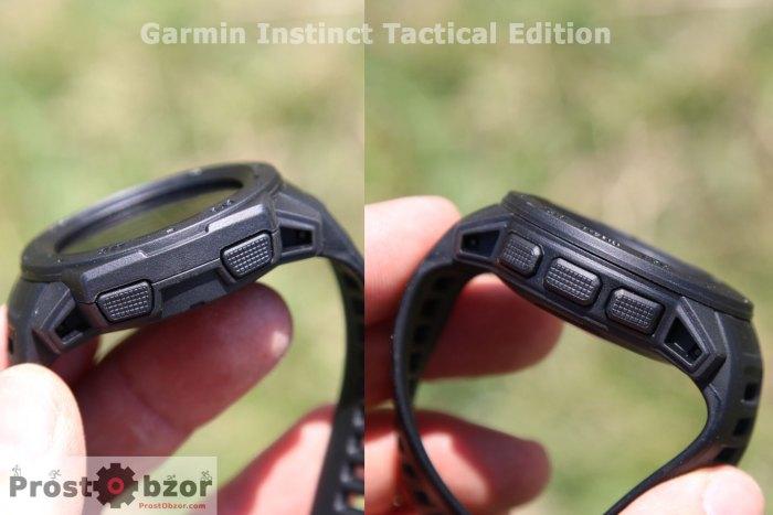 Боковые кнопки Instinct Tactical Edition