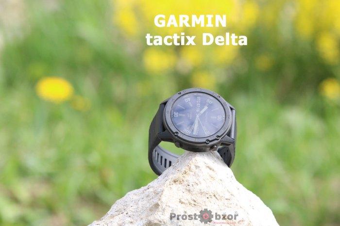 Обзор garmin tactix Delta Sapphire