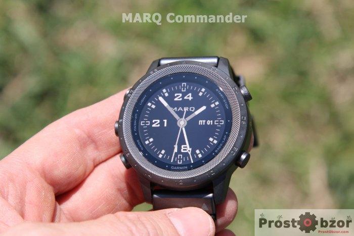 обзор часов MARQ Commander
