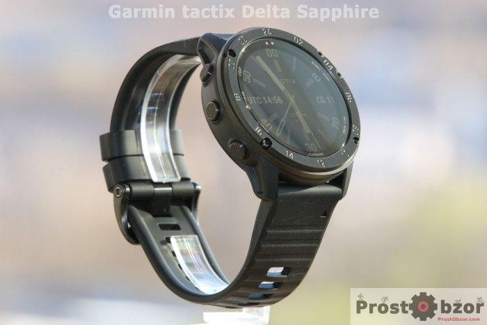 обзор часов Garmin tactix Delta Sapphire