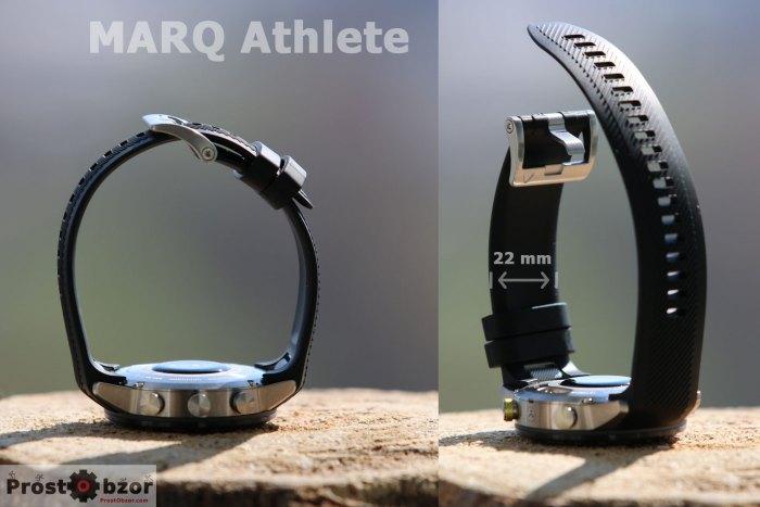 Ширина ремешка Marq Athlete 22 мм