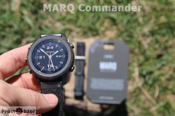 Корпус и безель часов MARQ Commander