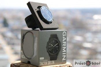 Коробка часов Garmin tactix Delta Sapphire