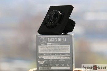 Коробка часов Garmin tactix Delta Sapphire с характеристиками