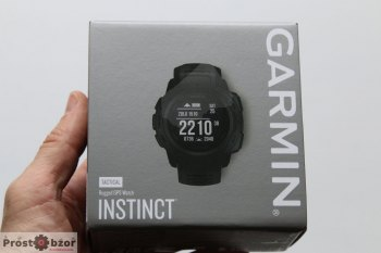 Коробка часов Garmin Instinct Tactical Edition