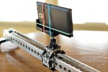 Специальные рельсы для съемки TimeLapse для смартфонов
