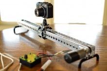 Специальные рельсы для съемки TimeLapse для камер