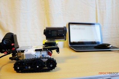 Передвижная тележка для съемки TimeLapse сделанная с Lego Mind Storm EV3