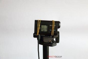 Крепление экшн-камеры SONY HDR-AS30VW на штативе
