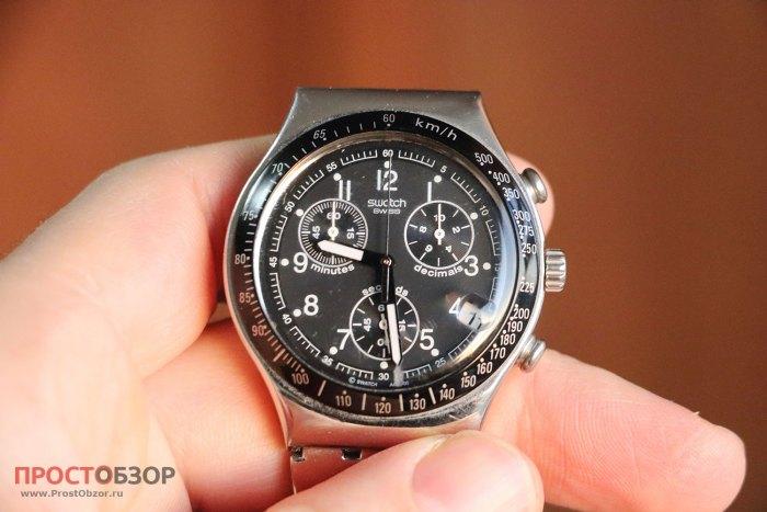 Пример классических швейцарских часов хронометров - Swatch