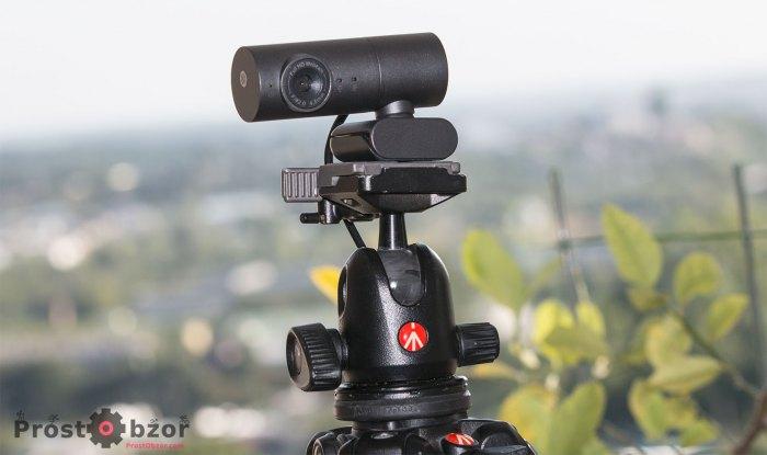 Как установить веб камеру VL Vidlok W91 на штатив