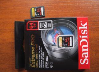 SD карта 64Gb SanDisk SDXC eXtremePro UHS – I Class 10 95MBсек