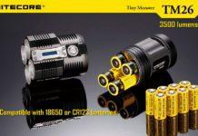 Монстр среди фонариков – Nitecore TM26 QUADRAY