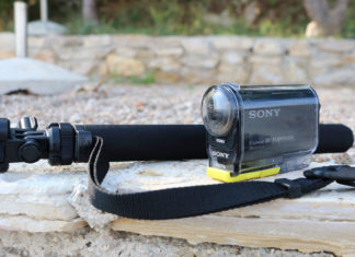 Селфи монопод Sony VCT AMP1 для экшн-камер Sony, GoPro