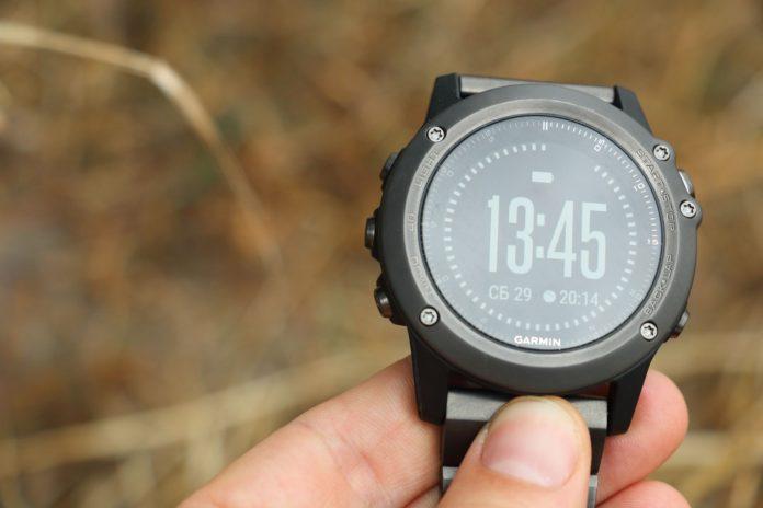 Кнопки часов Garmin Fenix 3